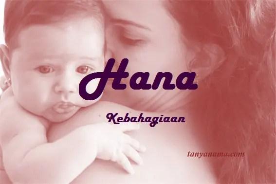 arti nama Hana