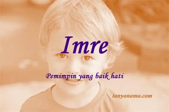 arti nama Imre