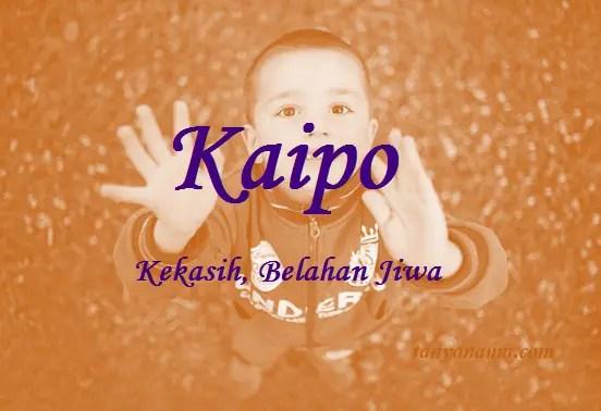 arti nama Kaipo