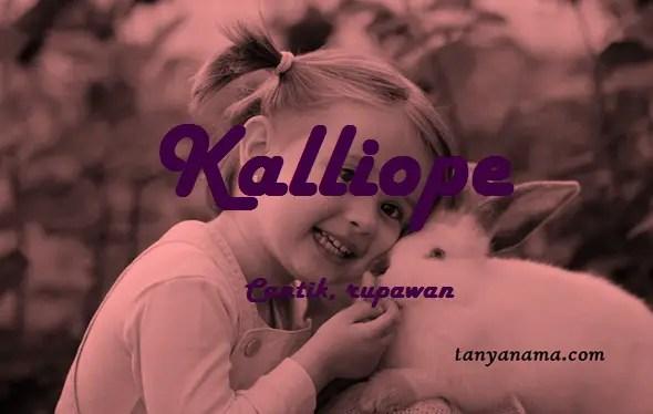 arti nama Kalliope
