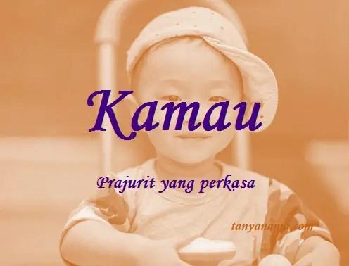 arti nama Kamau