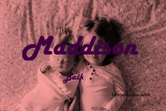 arti nama Maddison