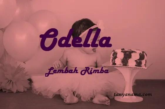 arti nama Odella