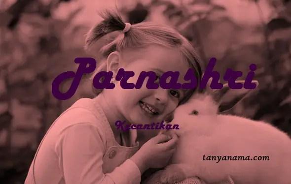 arti nama Parnashri