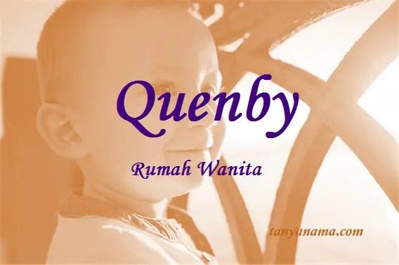arti nama Quenby