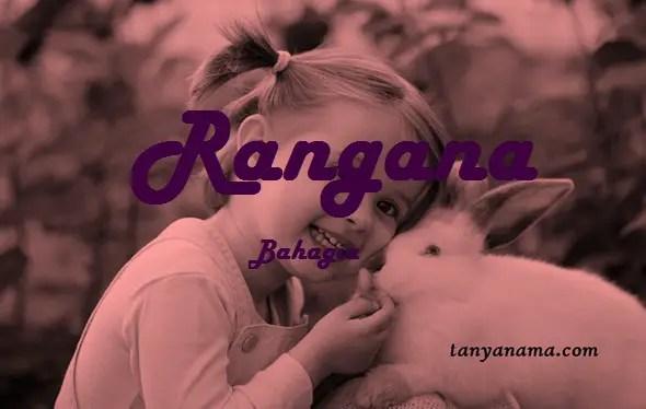 arti nama Rangana