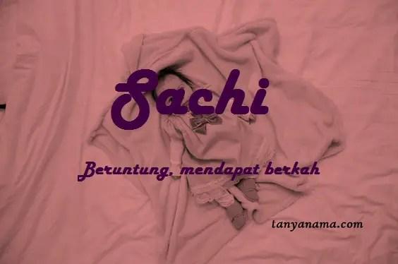 arti nama Sachi