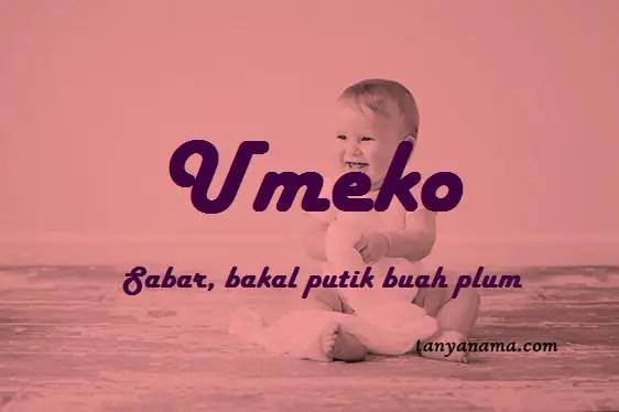 arti nama Umeko