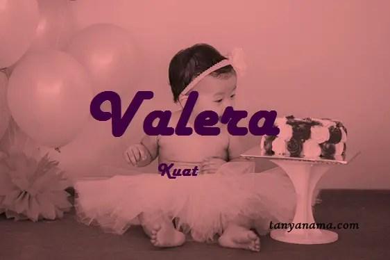 arti nama Valera