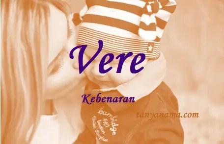 arti nama Vere