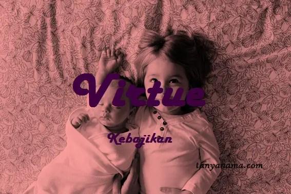 arti nama Virtue