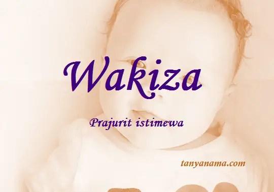 arti nama Wakiza
