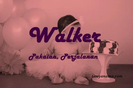 arti nama Walker
