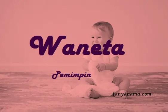 arti nama Waneta