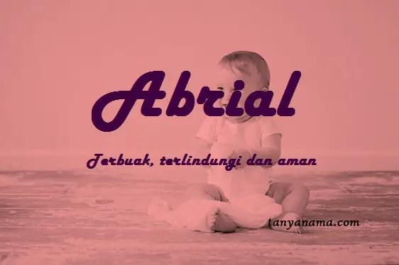 arti nama Abrial