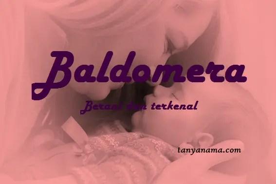 arti nama Baldomera