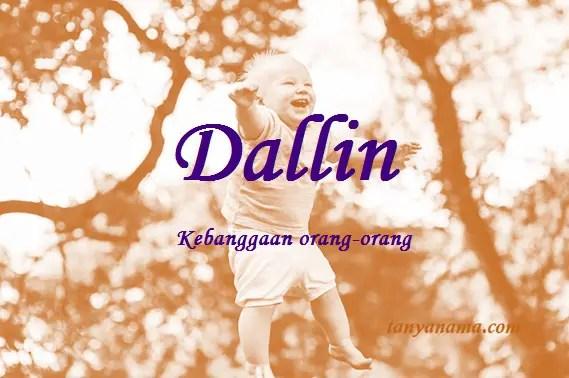 arti nama Dallin
