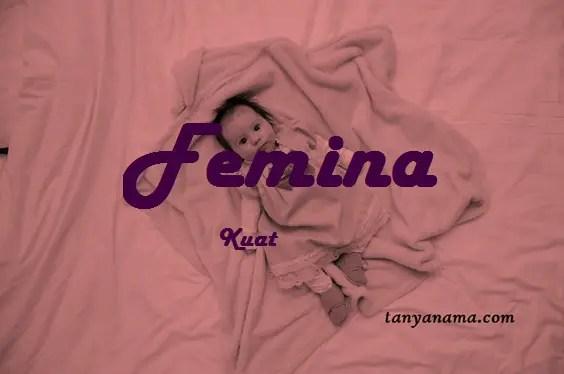 arti nama Femina
