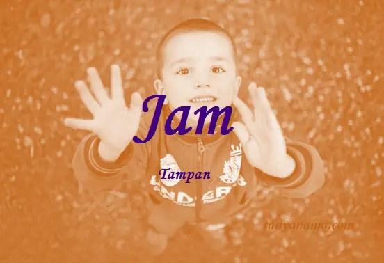 arti nama Jam
