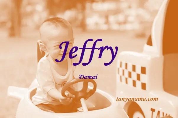 arti nama Jeffry