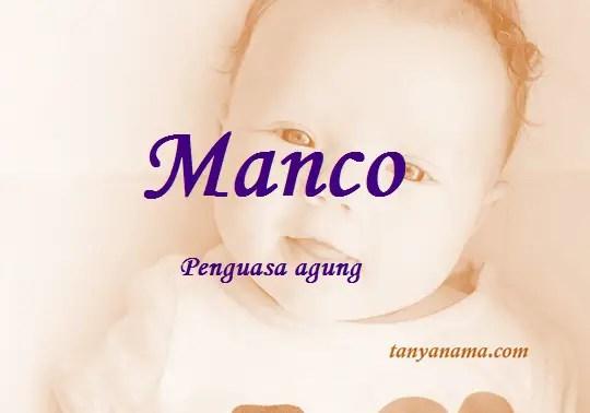 arti nama Manco