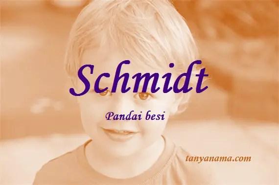 arti nama Schmidt