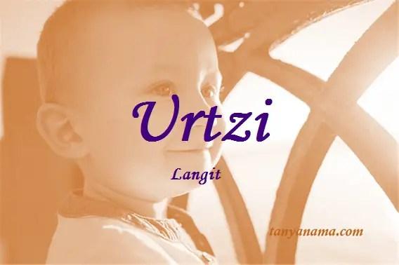 arti nama Urtzi