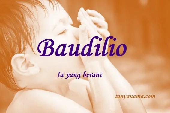 arti nama Baudilio