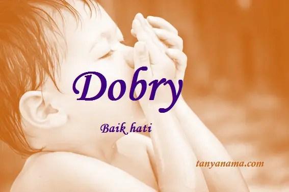 arti nama Dobry