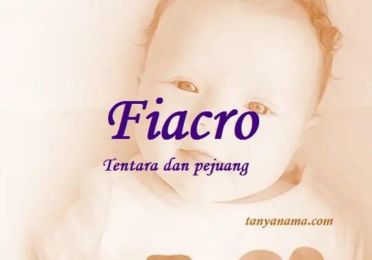 arti nama Fiacro