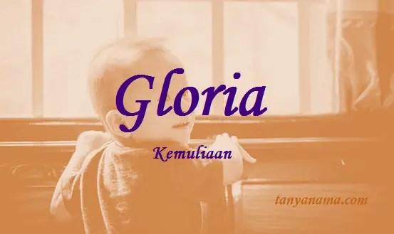 arti nama Gloria