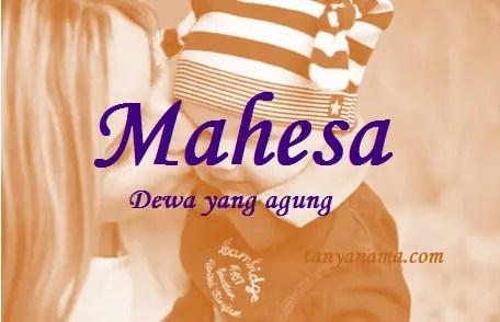 arti nama Mahesa