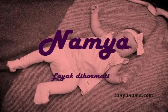 arti nama Namya