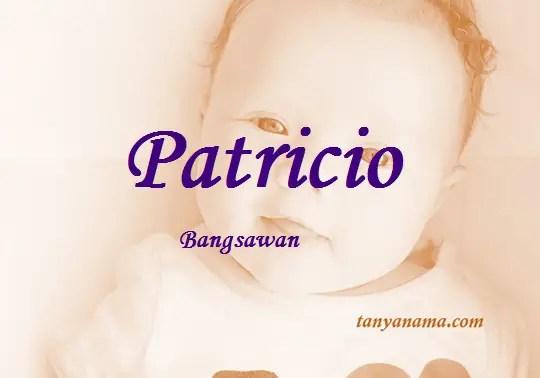 arti nama Patricio