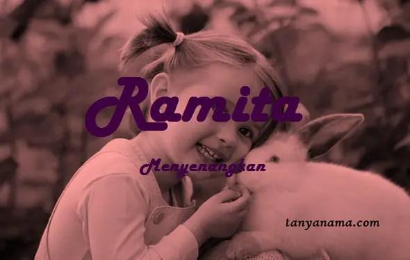 arti nama Ramita