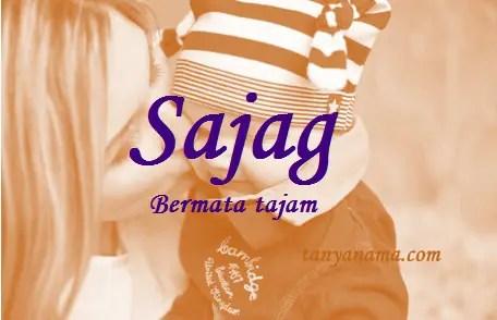 arti nama Sajag