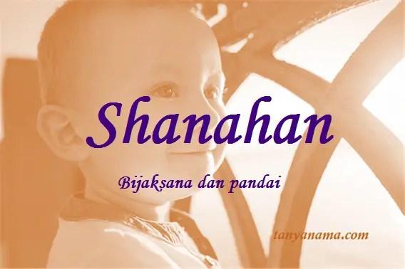arti nama Shanahan