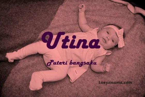 arti nama Utina