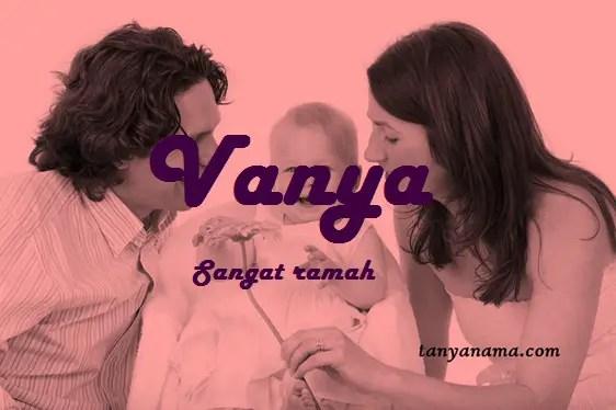 arti nama Vanya