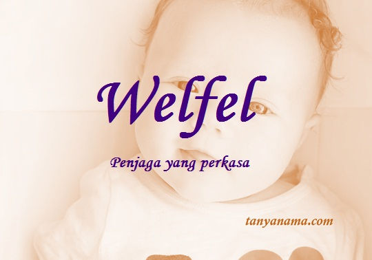 arti nama Welfel
