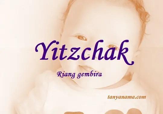 arti nama Yitzchak