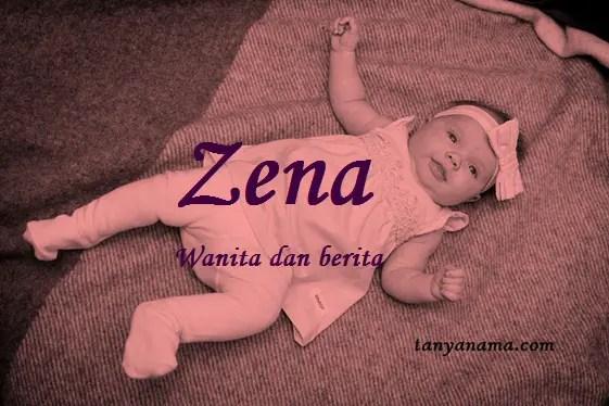 arti nama Zena
