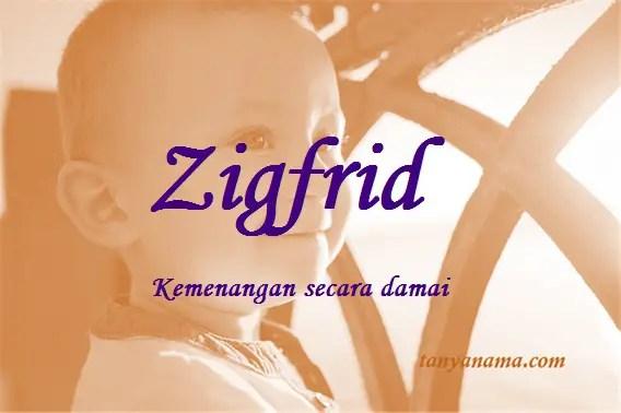 arti nama Zigfrid