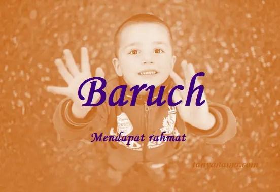 arti nama Baruch