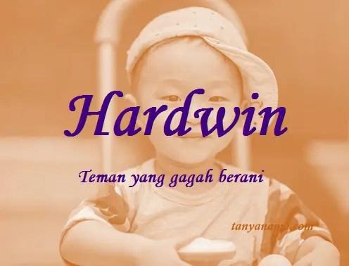 arti nama Hardwin
