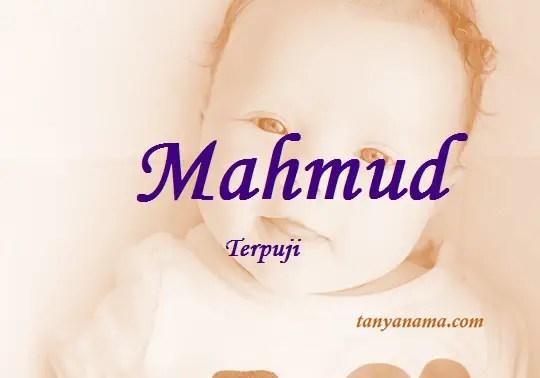 arti nama Mahmud