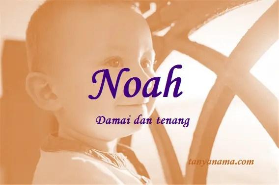 Arti Nama Noah Dan Rangkaian Namanya | Tanya Nama