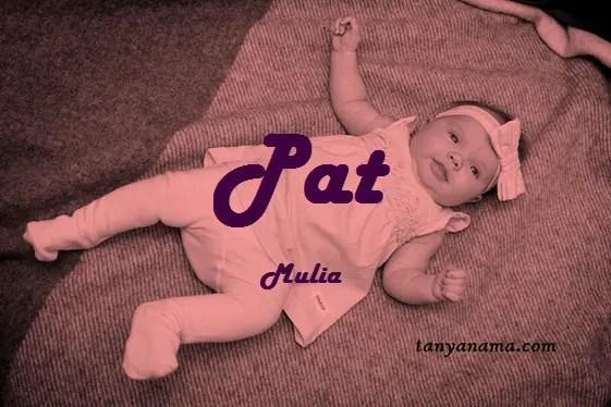 arti nama Pat