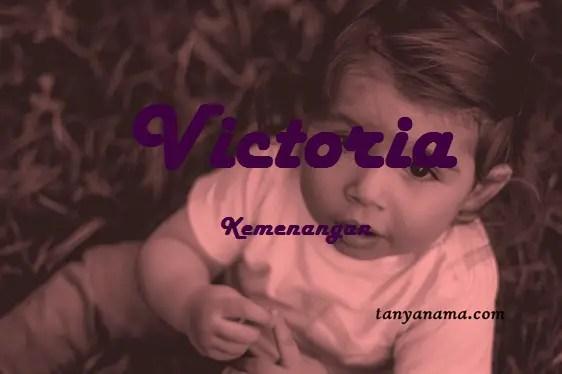arti nama Victoria