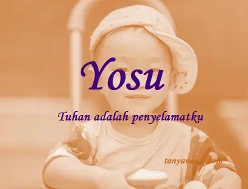 arti nama Yosu